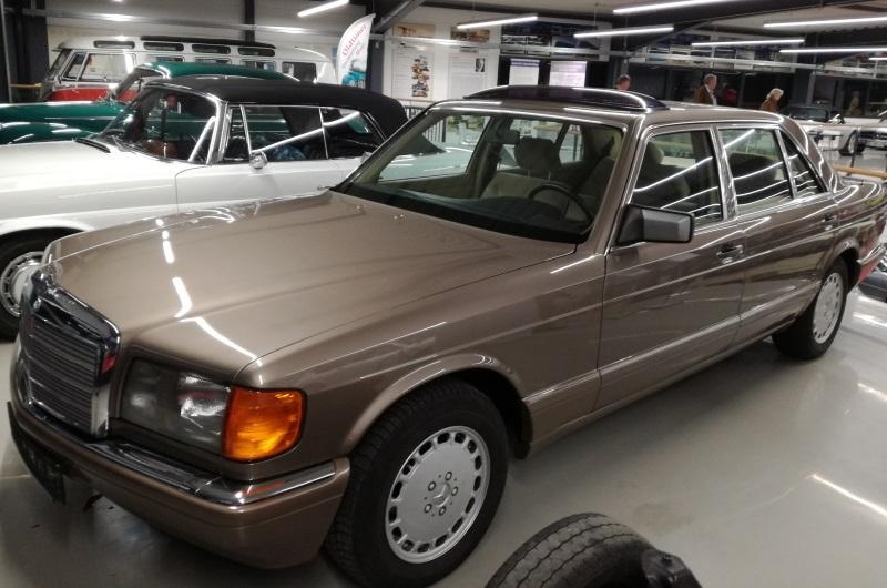 Mercedes 350 SL V8